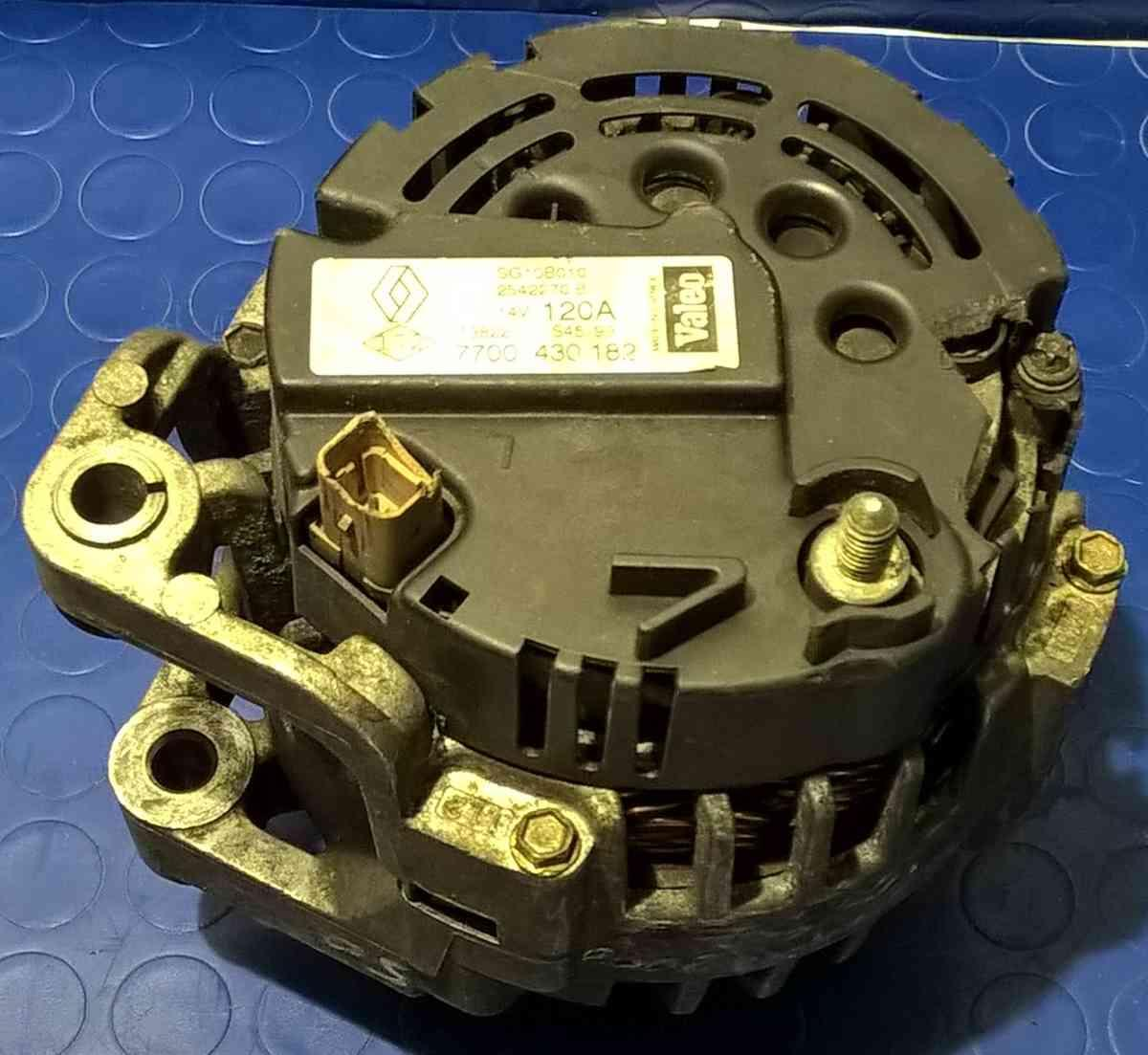 ALTERNATORE RENAULT SCENIC 1.9 CDI 7700430182<br />
