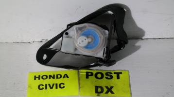 16759348 honda civic cintura di sicurezza posteriore dx